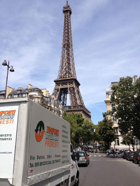 Trasloco parigi